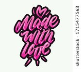 Hand Drawn Lettering Card. The...