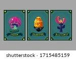 card game collection. fantasy...