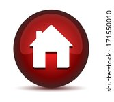 red house button | Shutterstock .eps vector #171550010