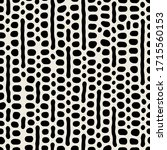 vector seamless pattern. free... | Shutterstock .eps vector #1715560153