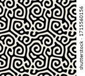vector seamless pattern. modern ... | Shutterstock .eps vector #1715560156