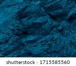 Blue Green Rock Background....