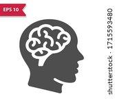 neurology icon. professional ... | Shutterstock .eps vector #1715593480