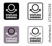 """stepless dimming"" control... 