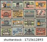 cars auto service  mechanic...   Shutterstock .eps vector #1715612893