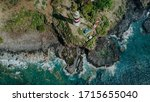 Beautiful Aerial Top View Of A...