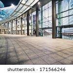 exterior of modern buildings | Shutterstock . vector #171566246