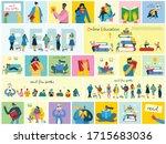 vector concept illustrations of ... | Shutterstock .eps vector #1715683036