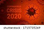 coronavirus crisis 2020.... | Shutterstock .eps vector #1715735269