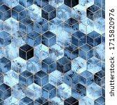 vector seamless geometric...   Shutterstock .eps vector #1715820976