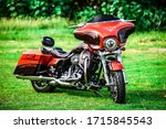 Motorcycle Harley Davidson...