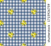 retro feed sack pattern with na ... | Shutterstock .eps vector #1715926759
