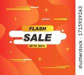 vector illustration of a sale... | Shutterstock .eps vector #1715939263