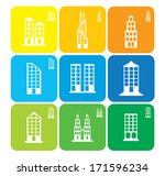 late.building.habitat.art.vector | Shutterstock .eps vector #171596234
