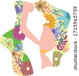 happy mother's day clipart.... | Shutterstock .eps vector #1715965759