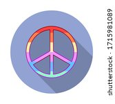 peace  rainbow  pride day long...
