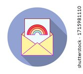 letter  rainbow  pride day long ...