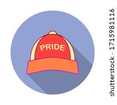 baseball hat  rainbow  pride...