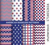 set of american patriotic stars ...   Shutterstock .eps vector #1716012616