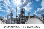 Oil And Gas Refinery Plant And...