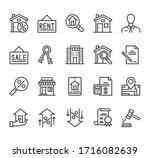 real estate house rent sale... | Shutterstock .eps vector #1716082639