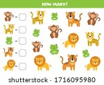 How Many Jungle Animals Are...