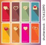heart card set 1 | Shutterstock .eps vector #171612890