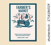 Farmer's Market Vector...
