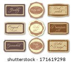 vintage labels | Shutterstock .eps vector #171619298