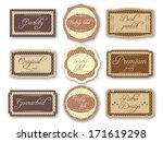 vintage labels | Shutterstock .eps vector #171619298