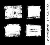 abstract grunge stamp element... | Shutterstock .eps vector #1716207166