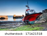 Boat In Craster Harbour   The...