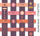 infographics template web...