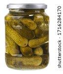 A Jar Of Pickled Cornichon...