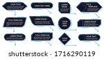 callouts titles banner.... | Shutterstock . vector #1716290119