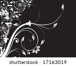 abstract floral background... | Shutterstock .eps vector #17163019