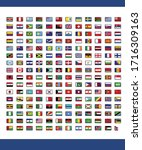 192 national flags icon pack | Shutterstock .eps vector #1716309163