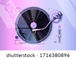 Record Player Vector. Vaporwave ...