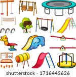 Set Of Playground Element...