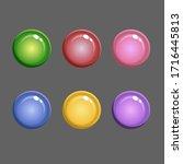 vector round candy montpensier. ...