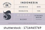minimal label. typographic... | Shutterstock .eps vector #1716465769
