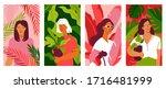 vector illustration in flat ... | Shutterstock .eps vector #1716481999
