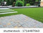 Modern garden design and...