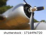 Grumman Hu 16.right Engine With ...