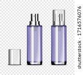 Empty Glass Spray Bottle With...
