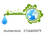 world water day save nature... | Shutterstock .eps vector #1716603079