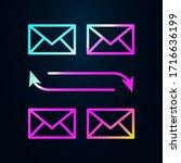 email  communication nolan icon....