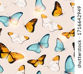 vector pattern with high... | Shutterstock .eps vector #1716642949