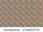 Seamless Pattern. Hand Paint...