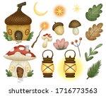 Cute Cartoon Forest Magic Fair...
